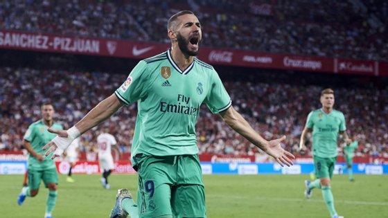 Benzema não marcou mas teve uma assistência de génio para o único golo do Real Madrid frente ao Espanyol