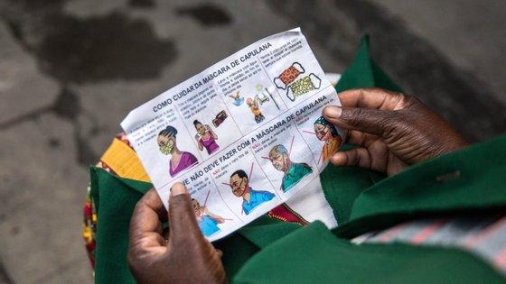 Moçambique testou 28.586 casos suspeitos desde o início da pandemia, em 11 de março, com uma taxa de positivos de 3%