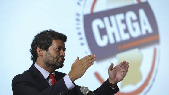 No passado dia 4 de abril, André Ventura apresentou a sua demissão da presidência do Chega