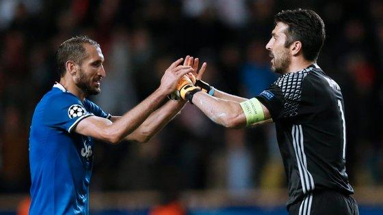 Os dois italianos são duas das figuras mais importantes da Juventus no século XXI