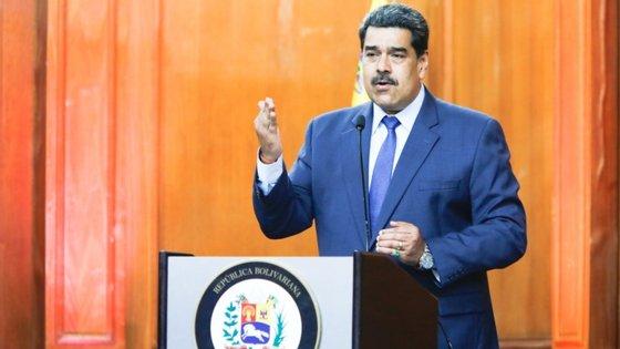 """No início de maio, o governo venezuelano declarou que impediu uma """"invasão"""" destinada a realizar um golpe de Estado contra Maduro e anunciou a detenção de pelo menos 52 pessoas"""