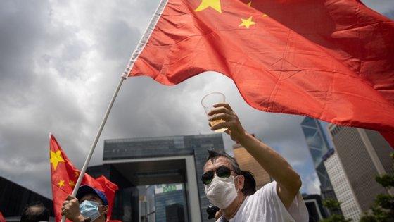 A imposição da lei em Hong Kong foi aprovada por Pequim a 28 de maio no encerramento da sessão anual da Assembleia Popular Nacional