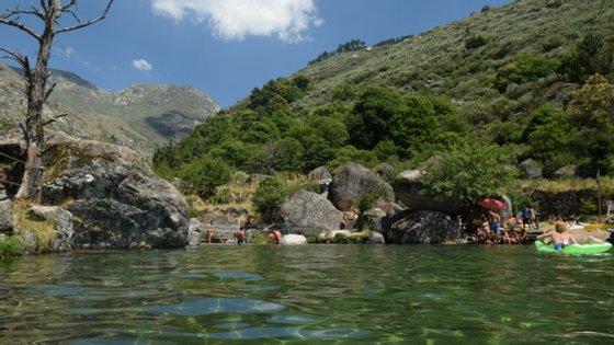 No concelho de Seia existem sete praias fluviais
