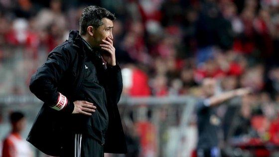 O treinador encarnado assumiu o comando da equipa em janeiro de 2019, depois da saída de Rui Vitória