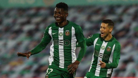 Gelson Dala começou o primeiro golo, assistiu para o segundo golo e marcou o terceiro golo do Rio Ave no triunfo frente ao Sp. Braga