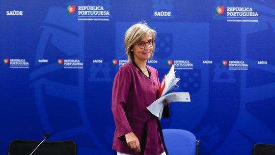 """""""Compreendo a preocupação que todos temos neste momento com a necessidade de interromper cadeias de transmissão na Área Metropolitana de Lisboa"""", disse a ministra"""