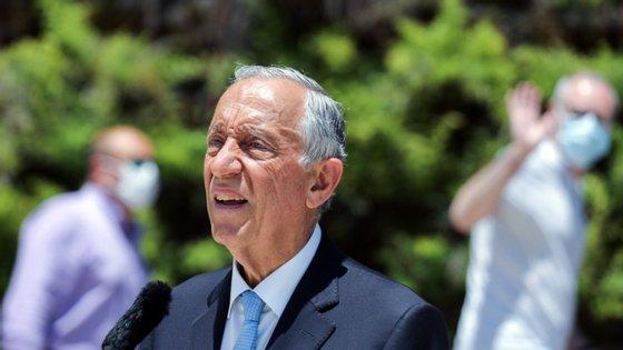 Marcelo Rebelo de Sousa assinalou o Dia da Região Autónoma da Madeira e das Comunidades Madeirenses dispersas pelo mundo