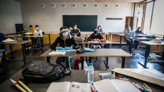 Ao final da manhã de terça-feira, 94% dos alunos já estavam inscritos, segundo dados do ministério