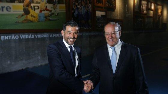 Pinto da Costa recordou na revista Dragões que conhece Sérgio Conceição, ex-jogador e treinador desde 2017, há mais de 30 anos