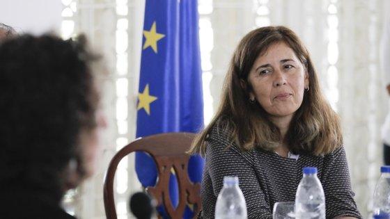 Isabel Brilhante Pedrosa é embaixadora da UE na Venezuela desde 2018