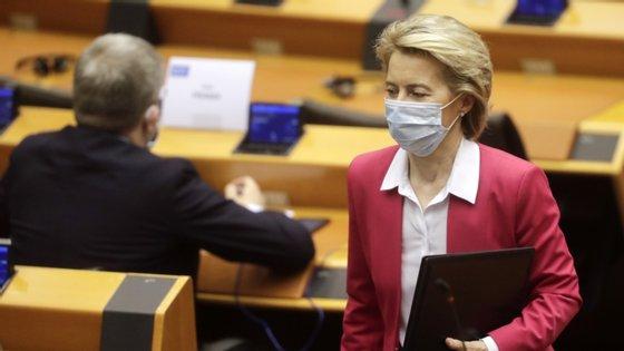 Numa declaração divulgada em Bruxelas, Ursula von der Leyen anunciou a reunião para 8 de julho
