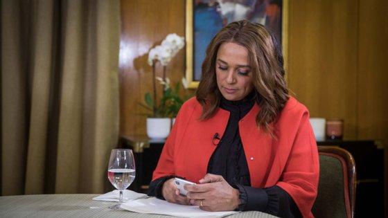 Isabel dos Santos é visada em processos criminais e cíveis em que o Estado angolano reclama mais de cinco mil milhões de dólares