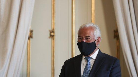 O primeiro-ministro deu ainda destaque ao trabalho da PSP durante a pandemia