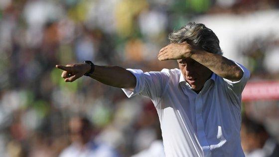 Jorge Jesus está agora a disputar o Campeonato Estadual pelo Flamengo. Campeonato brasileiro e Taça dos Libertadores podem arrancar em agosto