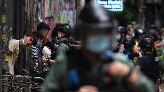 """""""Estamos a analisar com muito cuidado o conteúdo desta nova lei para verificar o cumprimento das obrigações internacionais de direitos humanos aplicáveis em Hong Kong"""", disse o porta-voz da ONU"""