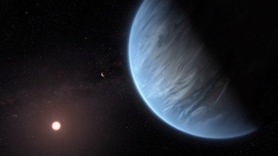 Os dois planetas com massas semelhantes a Saturno têm períodos orbitais de apenas nove e 35 dias