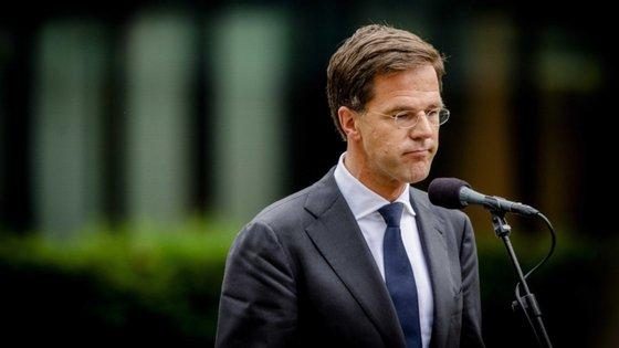 """""""Se não houver acordo nos dias 17 e 18 de julho, não será o fim do mundo"""", declarou o primeiro-ministro holandês"""