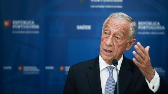 """""""Foi a solução que restou, perante a falta de capital privado, perante a urgência e perante a necessidade de não se perder a TAP"""", reconheceu Marcelo Rebelo de Sousa"""