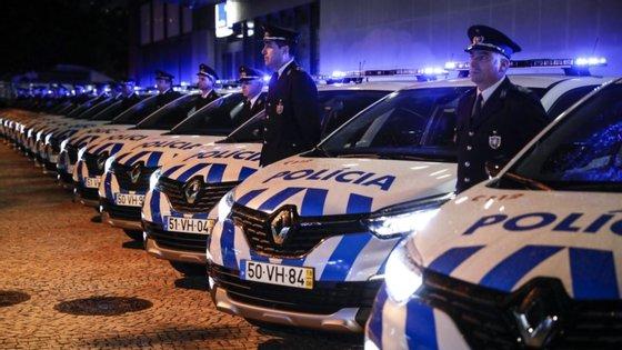 """Megaoperaçãoda PSPchama-se""""Drift""""e implicou a fiscalização de1.200 viaturas por mais de 100 polícias"""