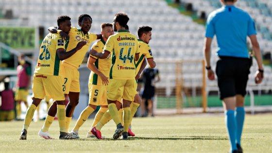 A equipa da Capital do Móvel marcou três golos na segunda parte