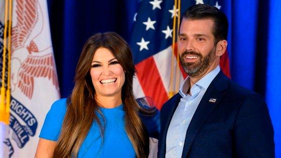 Kimberly Guilfoyle era jornalista da Fox News antes de se juntar à campanha de Donald Trump