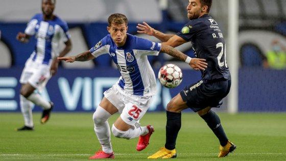 Otávio fez a assistência para o golo de Soares que desbloqueou o jogo antes de ser substituído por Fábio Vieira