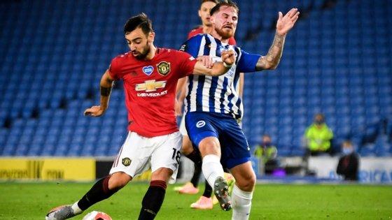 O jogador português já foi eleito três vezes jogador do mês no clube inglês, mas é a primeira vez que é distinguido como autor do melhor golo