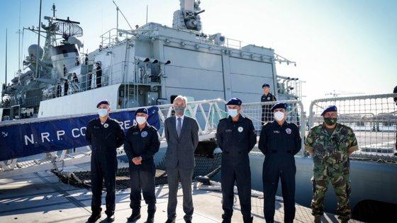 """O navio fará a primeira paragem na Noruega a 26 de julho, tendo vários exercícios que """"visam demonstrar a prontidão da aliança em termos militares"""