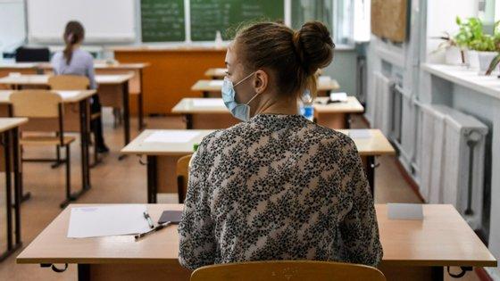 O Ministério da Educação decidiu que este ano, na sequência da pandemia de Covid-19, as provas nacionais não são obrigatórias para a conclusão do secundário