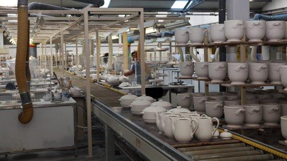 A fábrica tem 120 operários