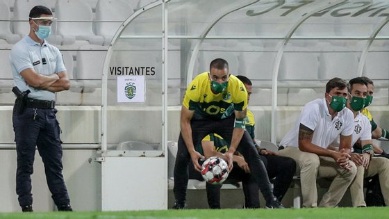 Rúben Amorim teve o primeiro jogo na Primeira Liga entre Sp. Braga e Sporting sem que a sua equipa tenha marcado