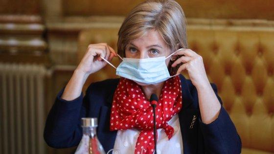 Ministra da Saúde tem sido o rosto diário, com a diretora geral da Saúde, do combate à Covid-19 em Portugal.