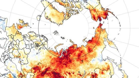 Devido ao aquecimento global o planeta registou um aumento de 01º Cem relação à era pré-industrial, provocando uma série de fenómenos ambientais e meteorológicosextremos.