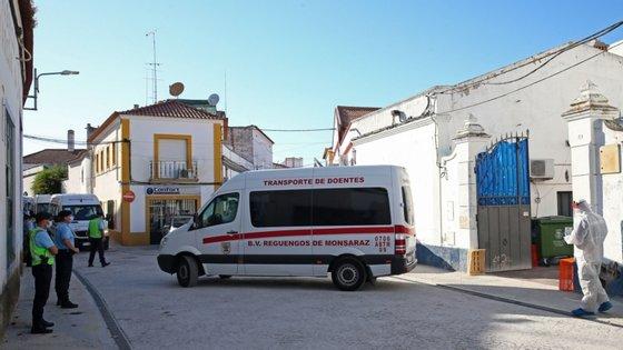 Vítimas encontravam-se internadas no Hospital do Espírito Santo de Évora