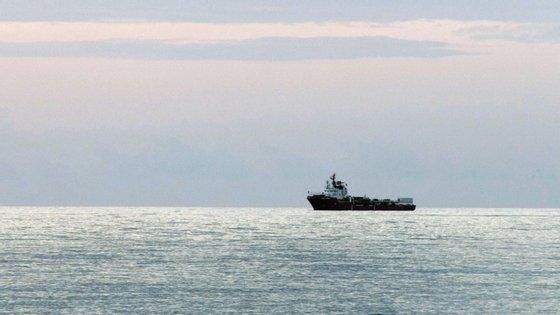 Os migrantes que desembarcaram foram também colocados em quarentena