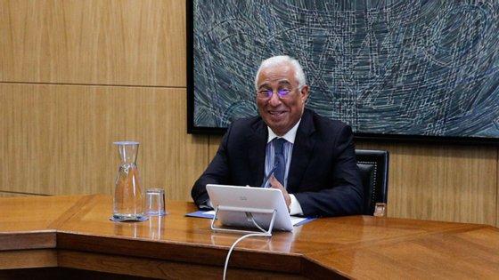 António Costa adiantou que vai ter reunião por videoconferência com a sua homóloga dinamarquesa