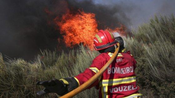 Vários concelhos de todos os distritos estão em risco muito elevado de incêndio
