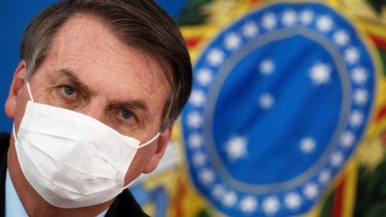 Jair Bolsonaro testou positivo para o novo coronavírus na terça-feira
