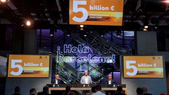 """O plano de investimento da Seat canaliza 5000 milhões de euros para """"impulsionar a transformação do sector automóvel em Espanha"""""""
