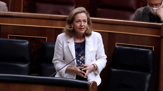 Nadia Calviño conta também com o voto de Portugal