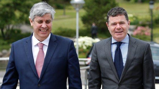 """""""Não duvido que o Paschal vai ser um excelente presidente do Eurogrupo, e desejo-lhe todo o sucesso"""", declarou Mário Centeno"""
