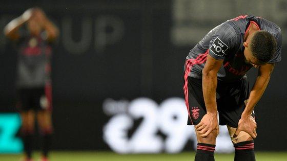 Benfica voltou a ceder depois de ter estado em vantagem e já perdeu um total de 22 pontos nos últimos 36 disputados
