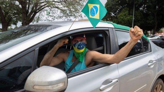 A região sudeste do Brasil continua a ser a mais afetada, somando 604.912 casos e 31.608 óbitos na pandemia