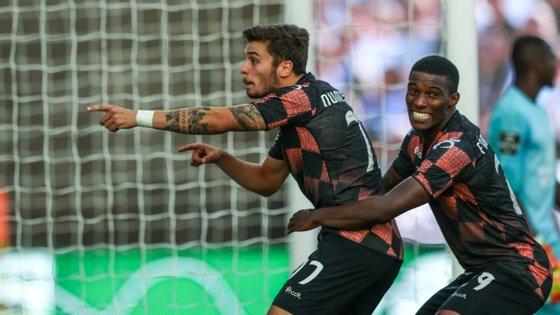 Nuno Santos marcou o único golo de um jogo onde Fábio Abreu foi o mais perdulário entre os avançados do Moreirense