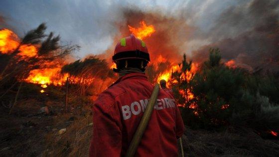 """A Autoridade Nacional de Emergência e Proteção Civil emitiu, este sábado, um aviso à população para orisco de incêndio devido """"à previsão de instabilidade meteorológica""""."""