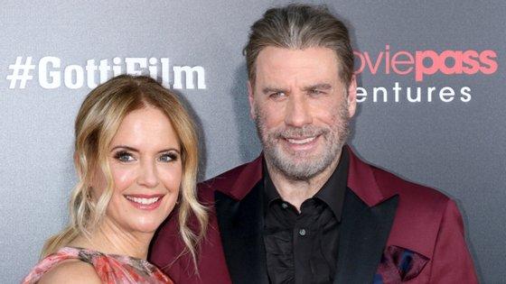 A atriz estava casada com John Travolta desde 1991