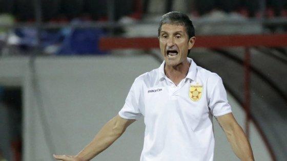 Cinco futebolistas do Partizani tinham testado positivo à Covid-19, facto que terá estado na base da atitude do treinador