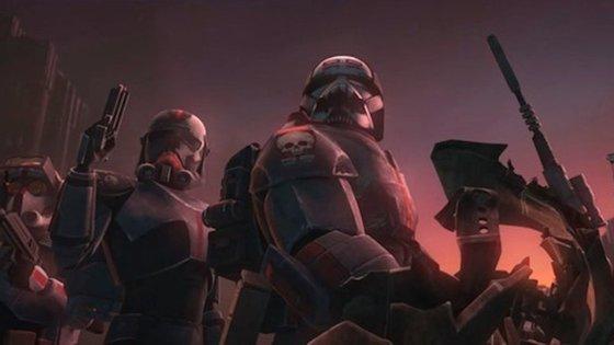 """Os """"Bad Batch"""" são """"um esquadrão único de clones que diferem geneticamente dos seus pares do Exército de Clones"""""""