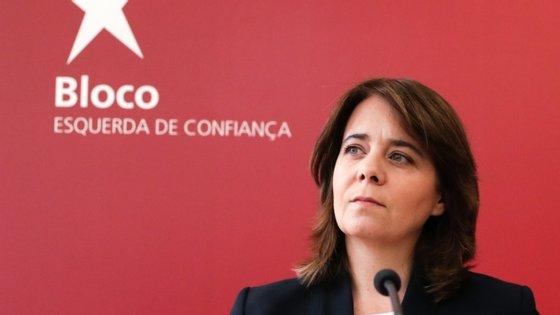 Catarina Martins reuniu-se esta terça-feira na ARS Norte, no Porto