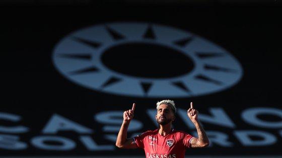 Rúben Ribeiro marcou um golo, fez uma assistência e desequilibrou na melhor fase do Gil Vicente no jogo
